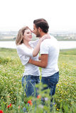 Close up shot of couple making love Stock Images