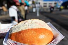 Close up shot of Crab cake, ate at San Francisco Stock Photos