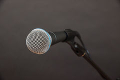 Close-up Shot of Dynamic Microphone Royalty Free Stock Images