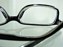 Close up shot of  eye glasses Stock Photography
