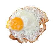 Close up shot of a fried egg Royalty Free Stock Photography