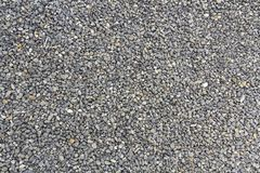 Close up shot of gravel rocks pebble stones as a background Stock Image