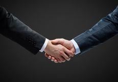 Close up shot of handshake Royalty Free Stock Photography