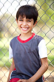 Close up shot of a happy boy laughing Royalty Free Stock Photos