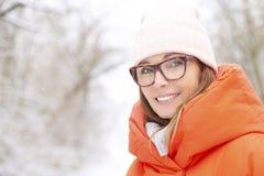 Enjoy winter weather outdoor Stock Photo