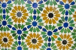 Close up shot of islamic architeture Stock Photos