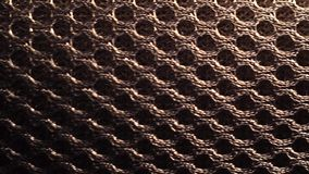 Close up shot of a net texture. By steadicam stock video