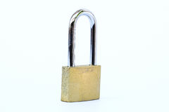 Close up shot of old lock  Royalty Free Stock Photography