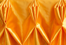 Close up shot orange cloth Royalty Free Stock Photos