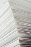 Close-up shot of pages of a book Royalty Free Stock Photos