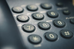 Phone keypad. Close up shot of phone keypad royalty free stock photos