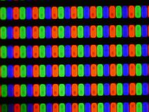 Close up shot of Plasma TV screen,watch TV stock video footage