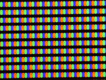 Close up shot of Plasma TV screen,watch TV stock footage
