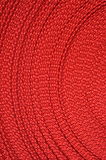 Close up shot of red yarn Royalty Free Stock Photos