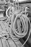Close-up shot of rope Stock Image