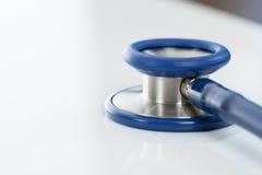 Close up shot of stethoscope - studio shot Stock Images