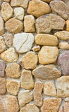 Close up Shot of Stone Wall. Stock Photo