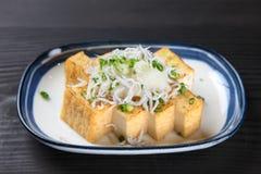 Close up shot of tofu cutlets Royalty Free Stock Image