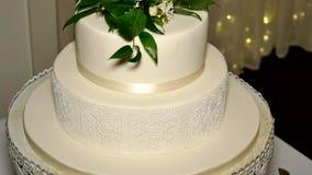 Close up shot of wedding ring. A close up shot of wedding ring stock video