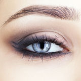 Close-up shot of woman's eye Stock Image