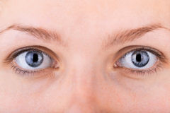 Close up shot of womans eyes Stock Image