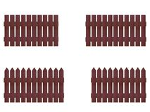 Picket Fence Royalty Free Stock Photos