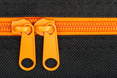 Close up shot of zipper Stock Photography