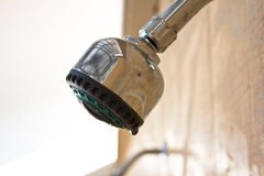 Close up of showerhead Royalty Free Stock Photo