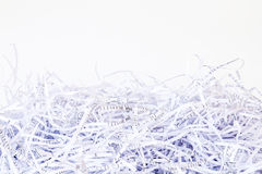 Close up Shredded paper background Stock Photography