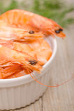 Close up shrimps Royalty Free Stock Image