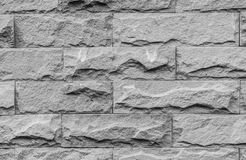 Close Up Of Silver Stone Wall Stock Image