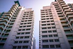 Close-up of Singapore public residential housing apartment in Bukit Panjang. Royalty Free Stock Images