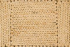 Close Up of Sisal floor covering Royalty Free Stock Photo