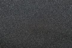 Close up of of skateboard grip tape. Macro photograph of sandpaper texture stock photo