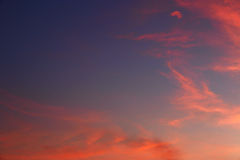 Close up sky and cloud Royalty Free Stock Photography