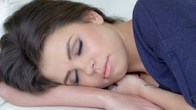 Close Up on Sleeping Stock Images