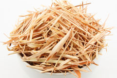 Close up slice dried lemongrass Royalty Free Stock Photos
