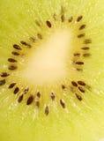 Close up of a slice of kiwi Stock Photos