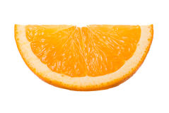Close-up slice of orange Royalty Free Stock Images