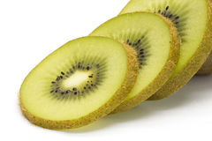 Close-up of sliced kiwifruit stock images