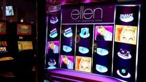 Close up slot machine stock footage