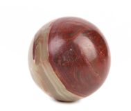 Close up small ball of jasper. Stock Photos