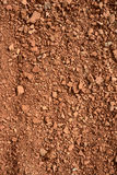 Close up of small brick chippings. Background stock images