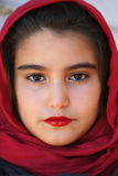 Close-up of a small girl with hijab Stock Photos