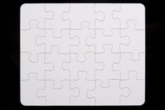 Close-Up Of Small Puzzle Royalty Free Stock Photo