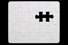 Close-Up Of Small Puzzle Royalty Free Stock Photos