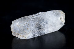 Close up of a small quartz crystal Stock Images