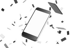 Close up of smartphone Royalty Free Stock Image