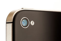 Smartphone Camera Close Up Royalty Free Stock Photo