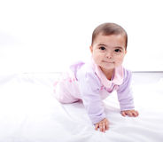 Close up of smiling baby Royalty Free Stock Photography